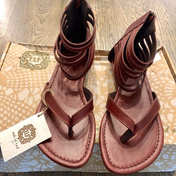 5c2b7d355d4f Elf Molle Thong Flat Sandals-Brand new.